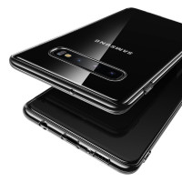 USAMS Primary TPU Zadní Kryt Transparent pro Samsung Galaxy S10+