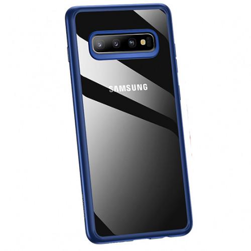 USAMS Mant Zadní Kryt pro Samsung Galaxy S10 Blue