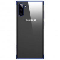 USAMS Kingdom Zadní Kryt pro Samsung Galaxy Note10+ Blue