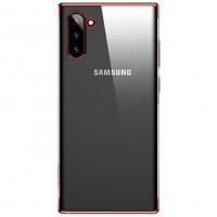 USAMS Kingdom Zadní Kryt pro Samsung Galaxy Note10+ Red
