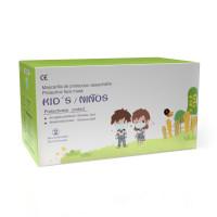 DongYuan detské rúško jednorázové 3-vrstvové 10 ks (dievčenské)