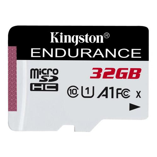 Kingston Endurance microSDHC UHS-I Class 10 U1 A1 card 32GB