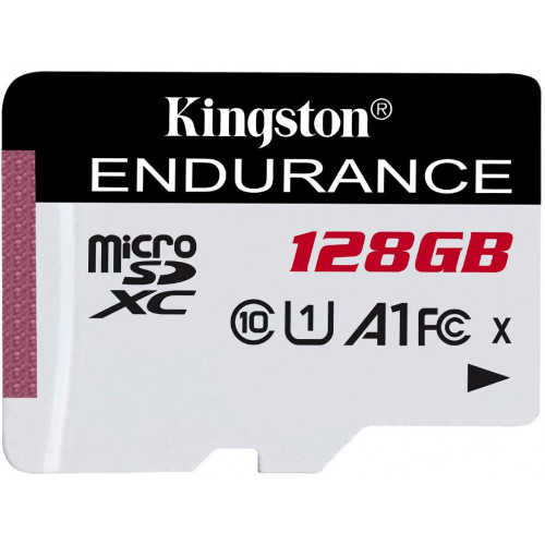 Kingston Endurance microSDXC UHS-I Class 10 U1 A1 card 128GB