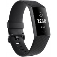 Fitbit Charge 3 Black / Graphite Aluminium