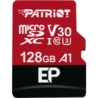 PATRIOT EP Series microSDXC Class 10 V30 A1 U3 card 128GB + Adaptér