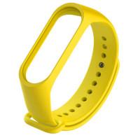 Tactical 521 Silikonový Řemínek pro Xiaomi Mi Band 3/4 Yellow (EU Blister)