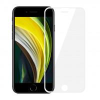 Mocolo 3D Tvrzené Sklo White pro Apple iPhone 6 / 6s / 7 / 8 / SE (2020)