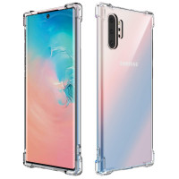Kisswill Shock TPU Kryt pro Samsung Galaxy Note10+ Transparent