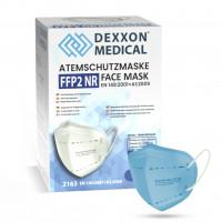 DEXXON MEDICAL Respirátor FFP2 NR svetlomodrý 1ks/bal