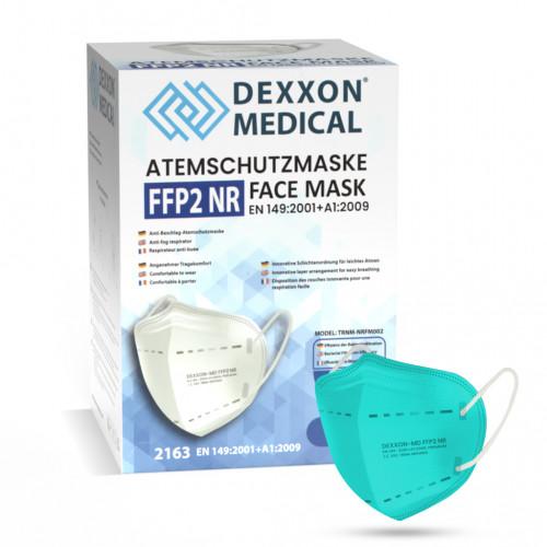 DEXXON MEDICAL Respirátor FFP2 NR svetlozelený 10ks/bal