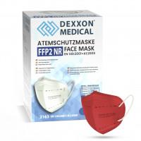 DEXXON MEDICAL Respirátor FFP2 NR červený 1ks/bal