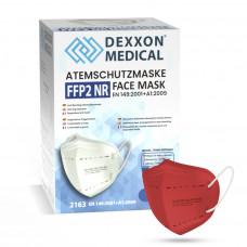 DEXXON MEDICAL Respirátor FFP2 NR červený 10ks/bal