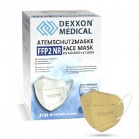DEXXON MEDICAL Respirátor FFP2 NR pieskový 1ks/bal