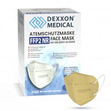 DEXXON MEDICAL Respirátor FFP2 NR pieskový 10ks/bal