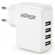 Energenie Univerzálna USB nabíjačka, 3,1 A, biela