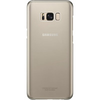 Samsung Clear Cover Gold pre G955 Galaxy S8+ (EU Blister)