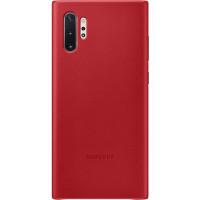 Samsung Kožený Kryt pro N975 Galaxy Note10+ Red (EU Blister)