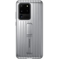 Samsung Standing Kryt pro Galaxy S20 Ultra 5G Silver (EU Blister)