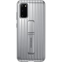 Samsung Standing Kryt pro Galaxy S20 Silver (EU Blister)