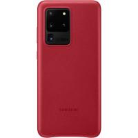 Samsung Kožený Kryt pro Galaxy S20 Ultra 5G Red (EU Blister)