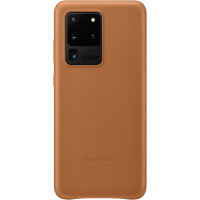 Samsung Kožený Kryt pro Galaxy S20 Ultra 5G Brown (EU Blister)