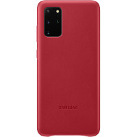 Samsung Kožený Kryt pro Galaxy S20+ Red (EU Blister)
