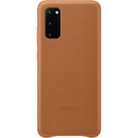 Samsung Kožený Kryt pro Galaxy S20 Brown (EU Blister)