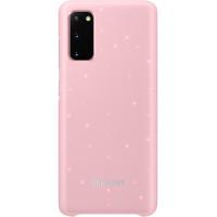 Samsung LED Kryt pro Galaxy S20 Pink (EU Blister)