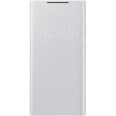 Samsung LED Flip Cover pro Galaxy Note 20 Ultra White Silver