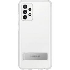 Samsung Clear Standing Kryt pro Galaxy A72 Transparent