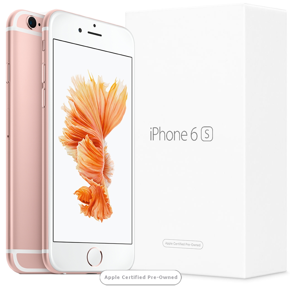 Apple iPhone 6S 128GB Rose Gold (Apple Certified Pre-Owned) UK distribúcia