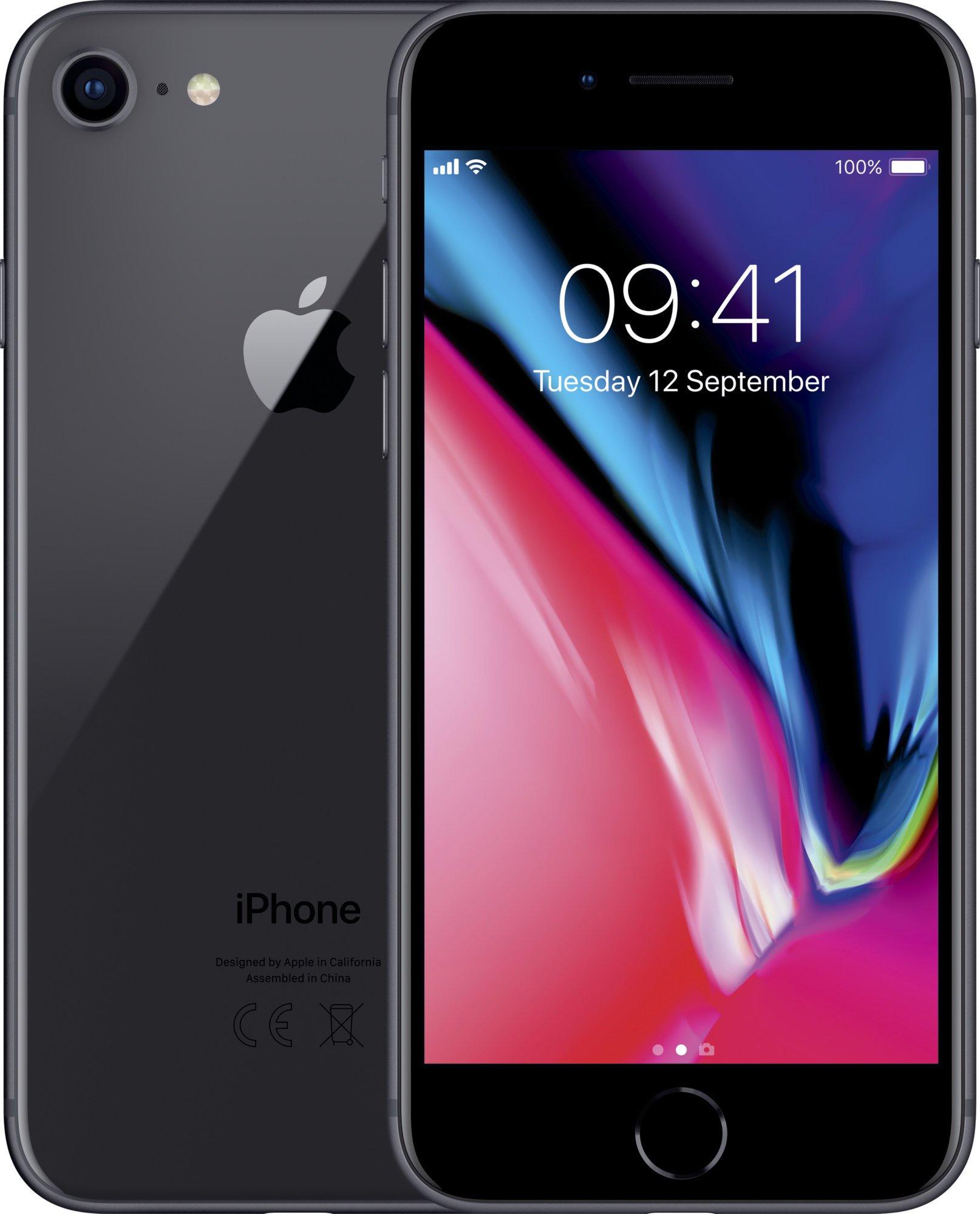 Apple iPhone 8 64GB Space Grey EU distribúcia