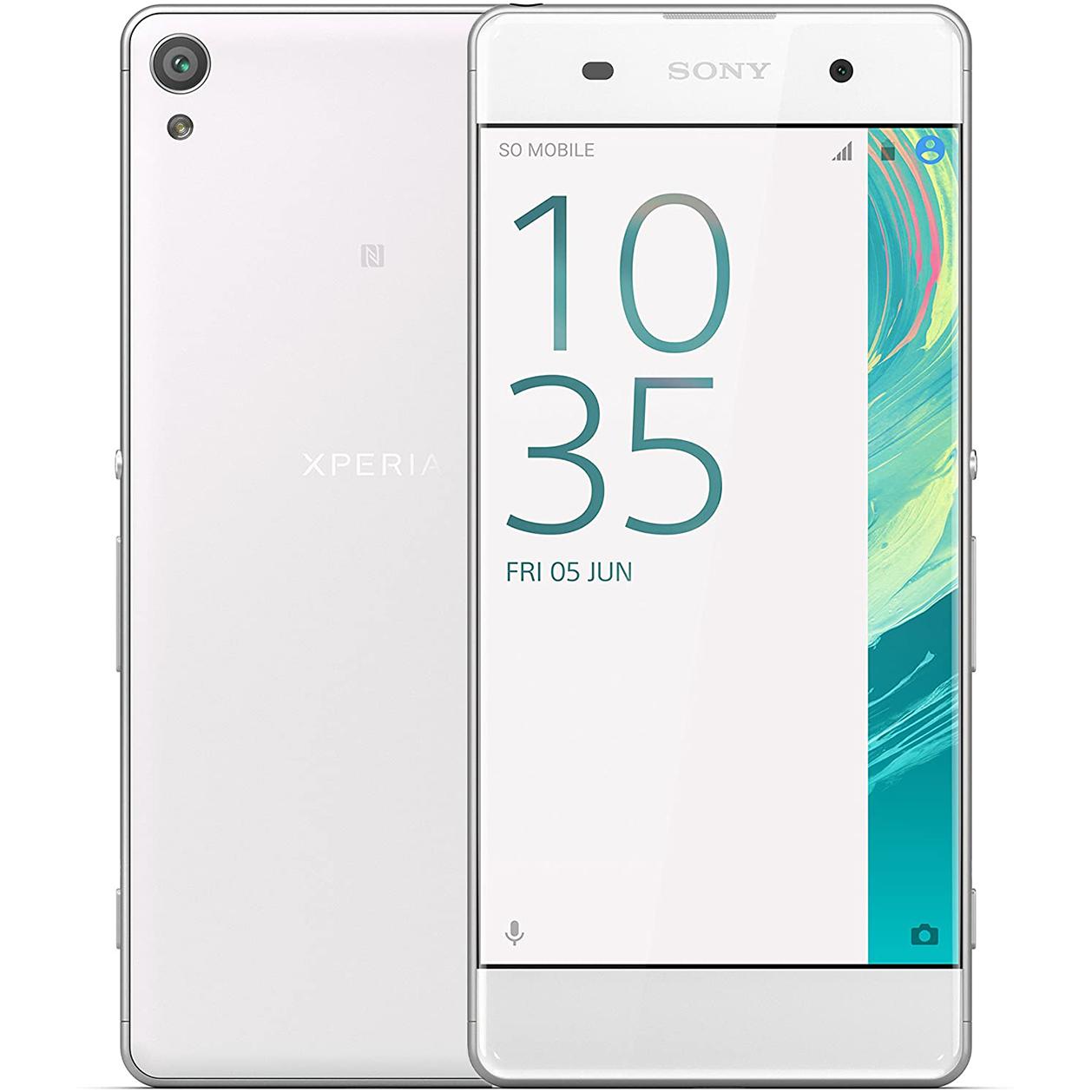 Sony Xperia XA Single Sim White EU distribúcia