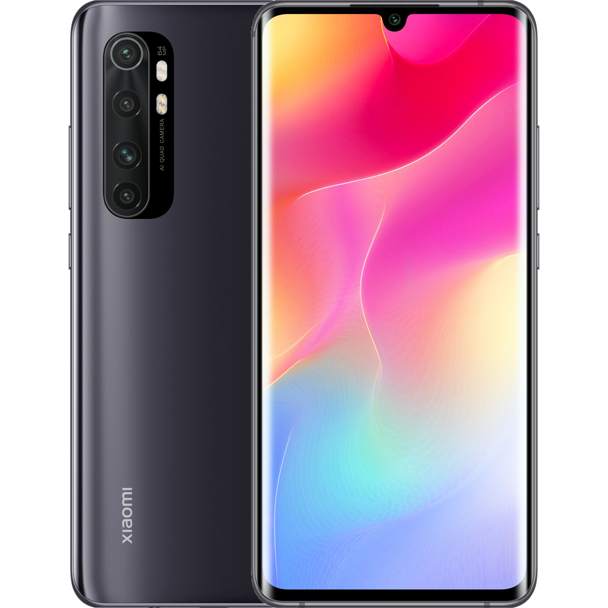 Xiaomi Mi Note 10 Lite 6GB/128GB Midnight Black EU distribúcia