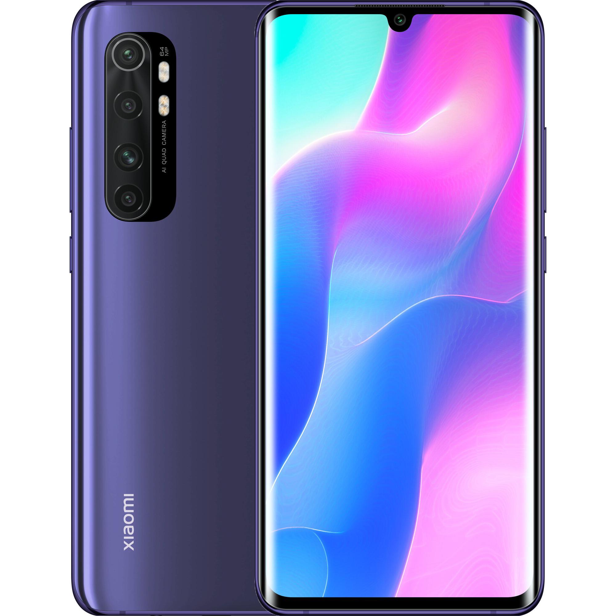 Xiaomi Mi Note 10 Lite 6GB/128GB Nebula Purple EU distribúcia